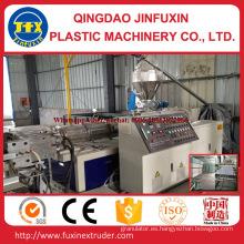 Hoja de la espuma de la corteza de la construcción del PVC que hace la máquina