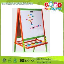 Placa de ensino de madeira 2015 OEM / ODM, quadro preto magnético, quadro de desenho para crianças