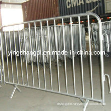 Hot Dipped Galvanized Decorative Safety Control Pedestrian Barriers