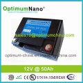 Free Maintenance 12V 50ah Lithium Ion Battery for Back-up System