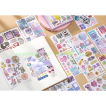 Removable Ornament Decoration Sticker of Gift Package