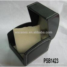 caixas de relógio de couro barato vendas por atacado