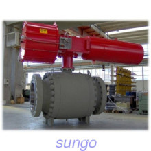 Flange End Floating Ball Valve