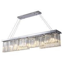 Освещение кухонной люстры из бисера
