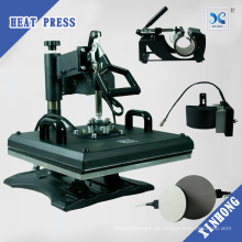 2017 Prime Multipurpose Sublimation Combo Heat Presse 8 in 1 Druckmaschine