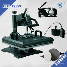 2017 Prime Multipurpose Sublimation Combo Heat Press 8 en 1 Machine d'impression