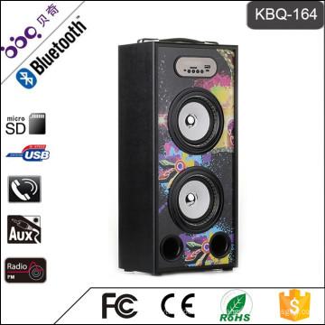 Altavoz subwoofer Bluetooth KBQ-164 20W 2000mAh con Bluetooth
