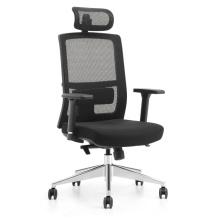 Chaises de direction certifiées ignifuges avec appuie-tête pour manager