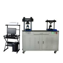 Máquina de teste de compressão e dobragem de cimento