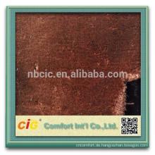 Superweiches hohes gewichtiges gefälschtes Pelz-Gewebe / künstliches Pelz-Gewebe für Kleid / Schuh / Sitz-Abdeckung
