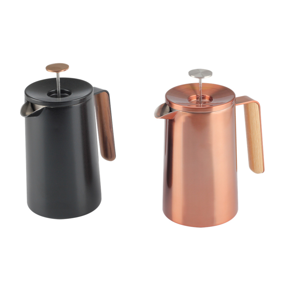 French Press With Special Lid Knob