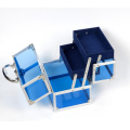 The Blue Acrylic Make up Cases (hx-q046)