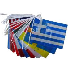 OEM PE Scroll Banner String Flag for Advertising Celebration