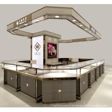 Armário de exposição de relógios de alta final Interior relógio loja loja de varejo de luxo