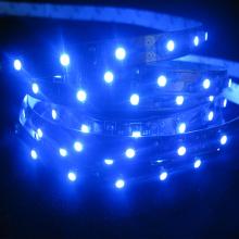 Faixa flexível do diodo emissor de luz do azul de SMD 3528 (60LEDs / m)