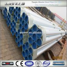 China fábrica mejor precio galvanizado tubo de 100 mm