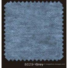 Couleur grise non tissée DOT Interlining avec Pes Powder (8025grey)
