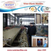 Tablero plástico de madera de PVC / PP / PE WPC / máquina de la protuberancia de la placa / que hace la máquina
