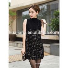 2014 fashion cashmere kniting dress sleeveless