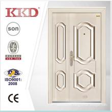New design white security double door KKD-201B
