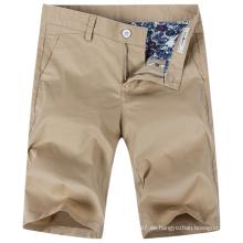 Pantalones cortos bermudas ocasionales de Bermudas del algodón de los hombres de la fábrica