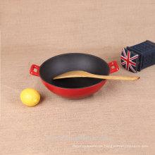 Gusseisen-Antihaft-Koch-Set chinesische Arbeit
