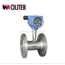 brida o hilo conecta turbo líquido y medidor de turbina de agua digital de gas