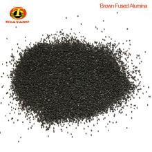 Abrasive materials black fused alumina oxide powder for grinding wheels