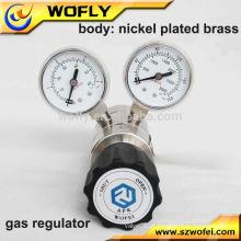 """Regulador de baixa pressão de 1/4 """"NPT F de alta pureza"""