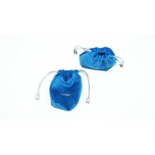 eco-friendly portable custom logo microfiber earphone bag
