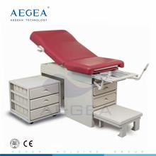 AG-S108 hôpital matériel d'examen chirurgie obstétrique chaise avec cabinet