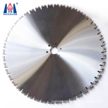 Professional 800mm laser welded reinforced concrete and brick wall cutting tools diamond blade wall saw
