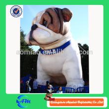 Perro inflable gigante inflable perro animal inflable gigante del toro para la publicidad