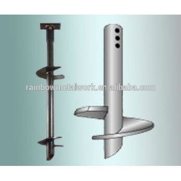 Ground Helix Anchors