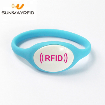 13,56 mhz siliconen RFID-armband voor themapark