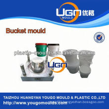 Polypropylene plastic paint bucket mould