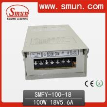 Fuente de alimentación a prueba de lluvia de 100W 18VDC 5.6A con CE RoHS