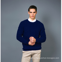 Men′s Fashion Cashmere Blend Sweater 17brpv129