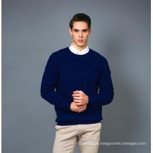 Men's Fashion Cashmere Blend Sweater 17brpv129