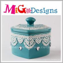 OEM Hot Selling Home Decoration Ceramic Jewelry Box
