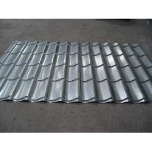 Chapa de aço inoxidável galvanizado ondulado