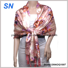 2013 Fashion Lady′s Satin Scarf