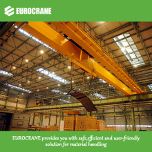 Double Girder Overhead Crane for Lifting Steel Plate