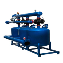 Eisensand Kies Fällungsfiltration