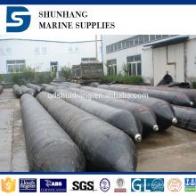 Vejiga de aire de salvamento de goma inflable marina hecha en China