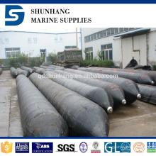 Vessie d'air de récupération en caoutchouc gonflable marine fabriquée en Chine