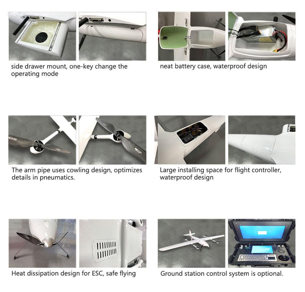 Tilt rotor VTOL Brand Logistics UAV
