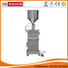 Máquina de rellenar del líquido / de la crema / del aceite semiautomático / máquina de rellenar líquida manual