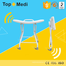 Topmedi Lightweight Aluminum Foldable Bath Bench / Bath Chair