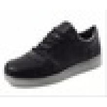 Luz de carregamento USB piscando luzes LED sapatos de barra de desempenho rua sapatos sapatos à noite